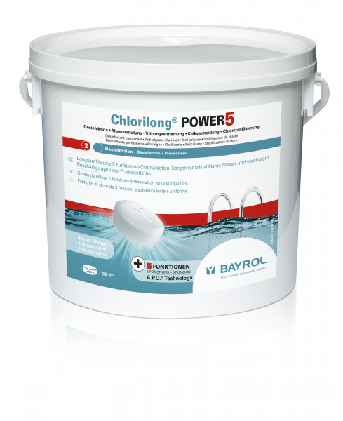 Bayrol Chlorilong POWER 5 - 5kg Eimer