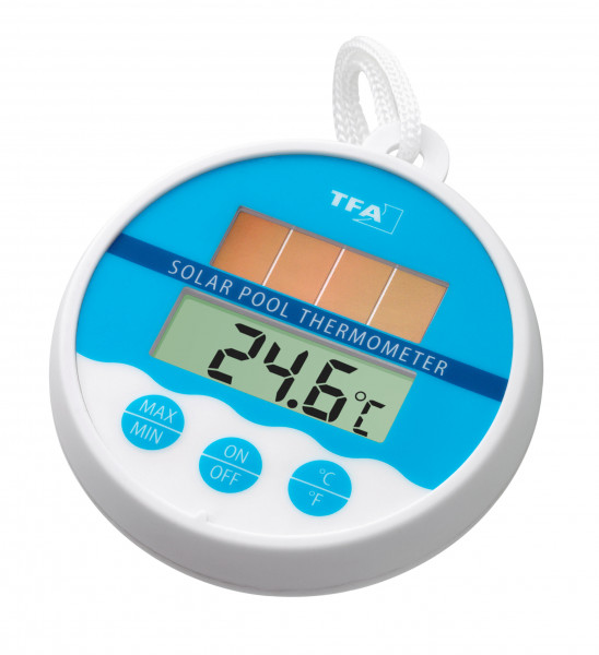Digitales Solar-Poolthermometer