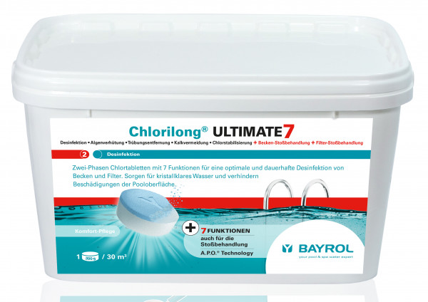 Chlorilong ULTIMATE 7 (Varitab) 4,8kg Eimer