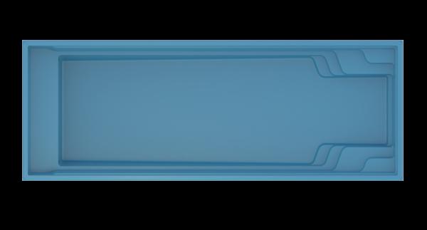 COMPASS XL-Trainer 110FB Ceramic Pool 11,02m x 4,02m x 1,50m