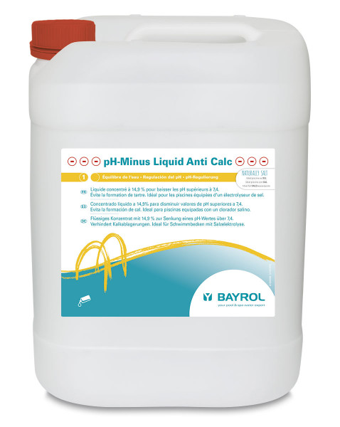pH-Minus Liquid Anti Calc 14,9%, 20 L-Kanister