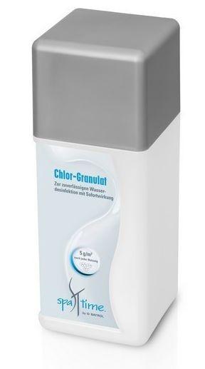 Chlor Granulat 1kg Flasche